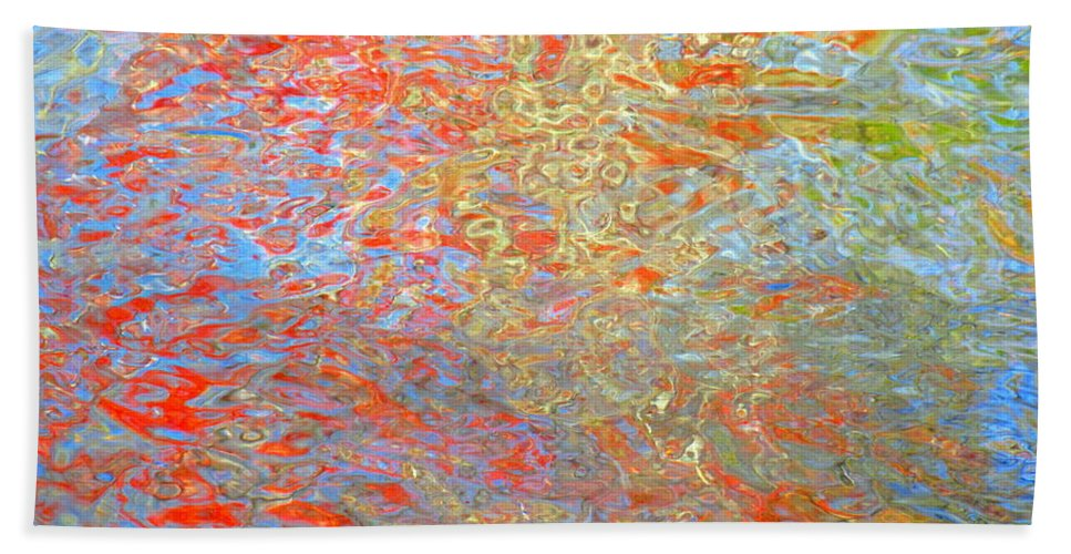 Abstract Beach Towel featuring the photograph Dimensional Premise by Sybil Staples