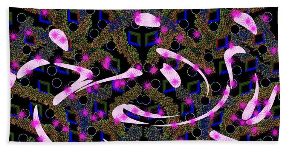Abstrakt Beach Towel featuring the digital art Fraiser by Angelika Heidemann