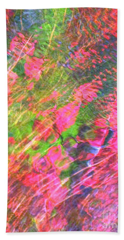 Abstract Beach Towel featuring the photograph Free And Wild As The Wind by Sybil Staples
