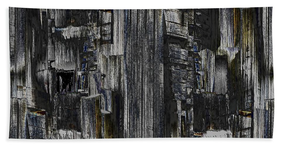 Seattle Beach Towel featuring the photograph Freeway Park 2 by Tim Allen