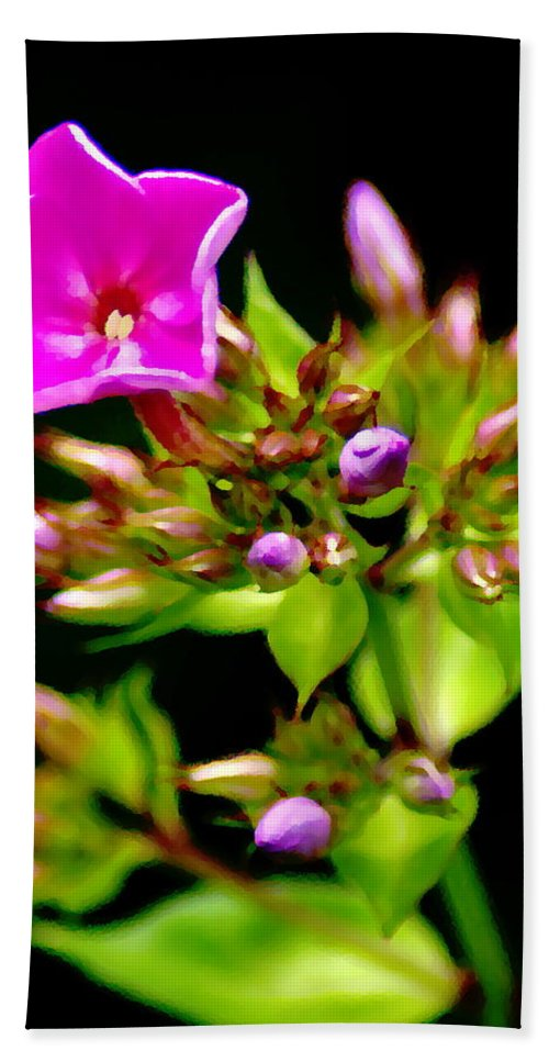 Flowers Beach Towel featuring the photograph Fresh And Happy 2 by Ben Upham III