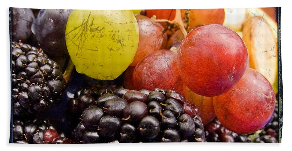 Fruit Beach Towel featuring the photograph Fresh Not Frozen by Jeffery Ball