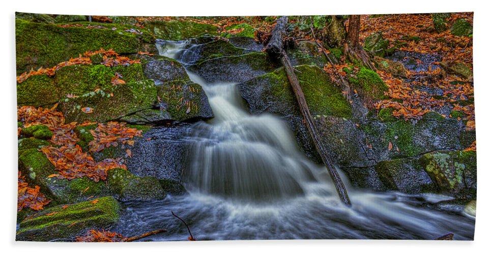 Autumn Beach Towel featuring the photograph Fresh Water by Evelina Kremsdorf
