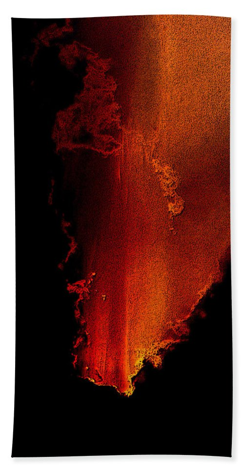 Surreal Landscape Beach Towel featuring the photograph From Hell by Mykel Davis