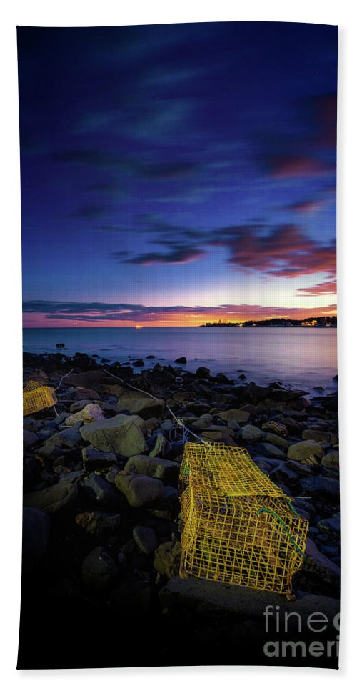 Kittery Point Beach Towel featuring the photograph From The Sea by Scott Thorp
