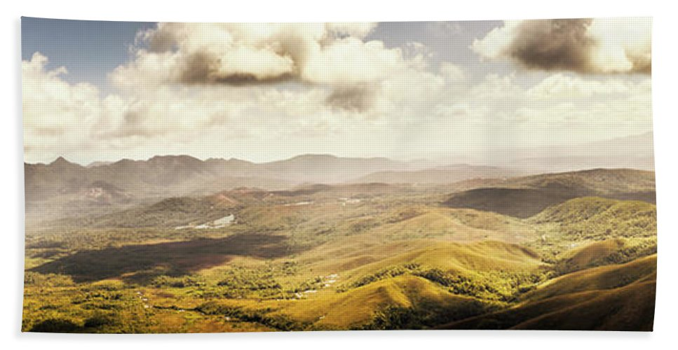Magnificent Beach Towel featuring the photograph From Zeehan To Trial Harbour by Jorgo Photography - Wall Art Gallery