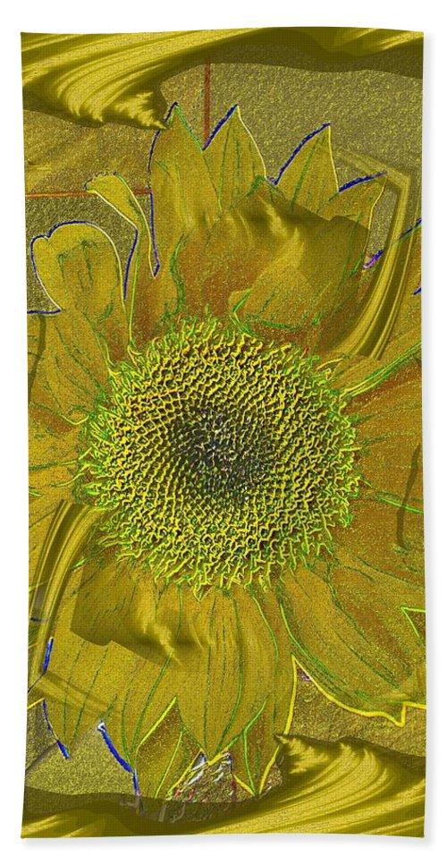 Flower Beach Towel featuring the photograph Fulfillment by Tim Allen