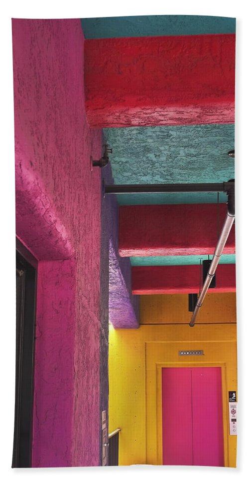 Fun House Beach Towel featuring the photograph Fun House by Skip Hunt