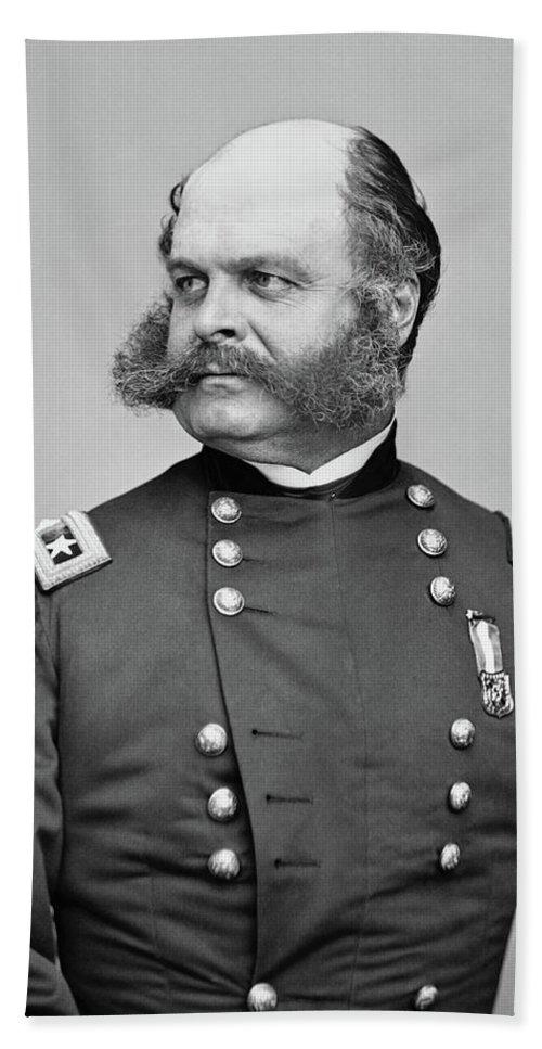 General Burnside - Civil War Beach Towel for Sale by War Is Hell Store