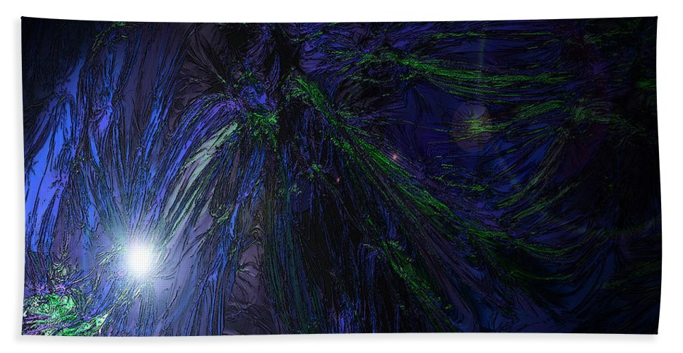 Creation Beach Towel featuring the photograph Genesis One Nine by Mykel Davis