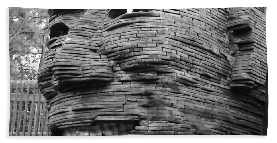 Architecture Beach Towel featuring the photograph Gentle Giant by Rob Hans