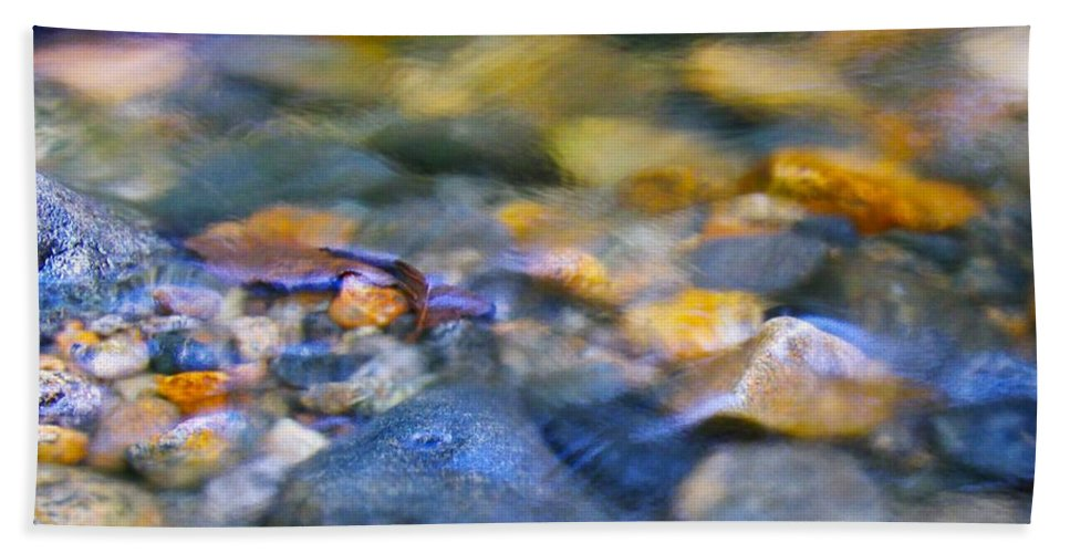 Ripples Beach Towel featuring the photograph Gentle Ripples by Sharon Talson