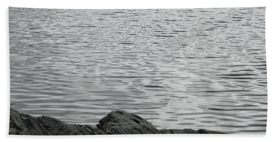 Water Beach Towel featuring the photograph Gentle Waters by Kelly Mezzapelle