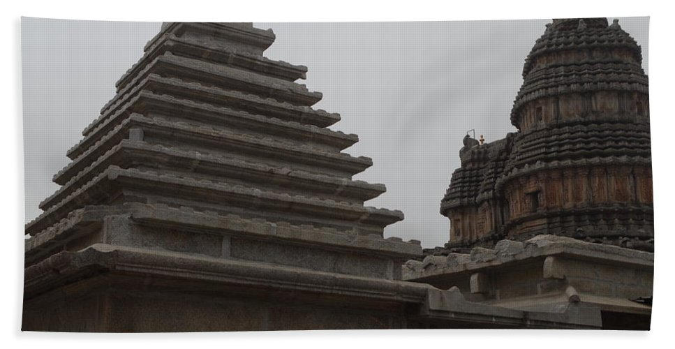 Architecture Beach Towel featuring the photograph Geometry by Satish Kumar