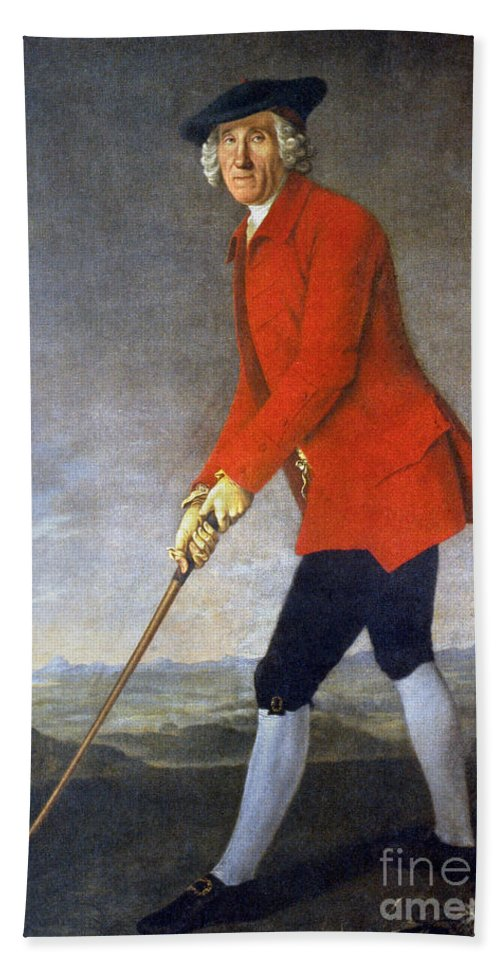 18th Century Beach Towel featuring the photograph George Chambers: by Granger