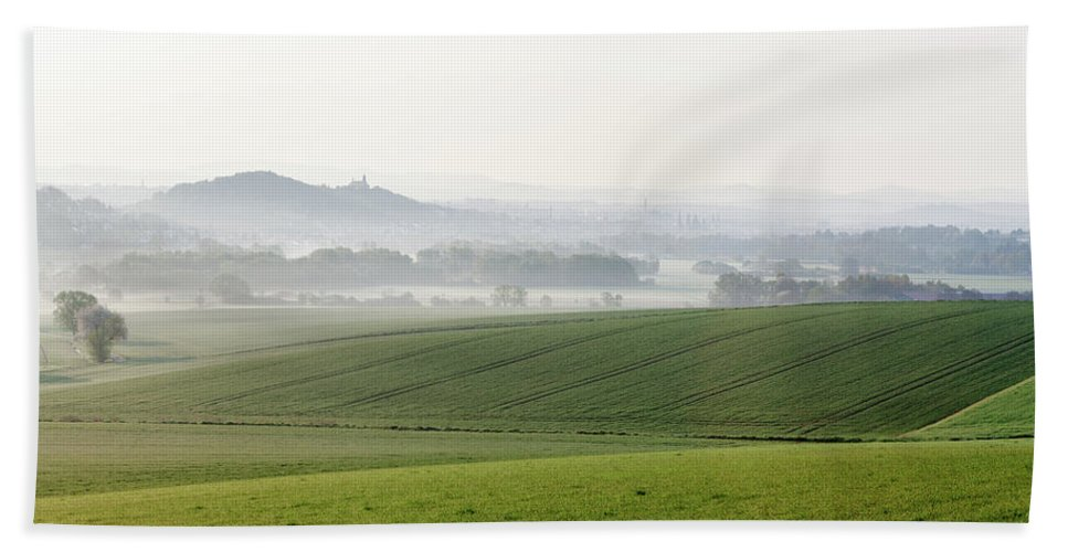 Germany Beach Towel featuring the photograph Germany - Fulda River Valley by Ed Thune