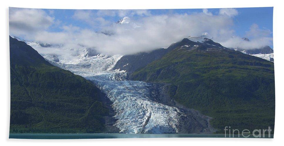Glacier Bay Beach Towel featuring the photograph Glacier Bay Afternoon by Sandra Bronstein