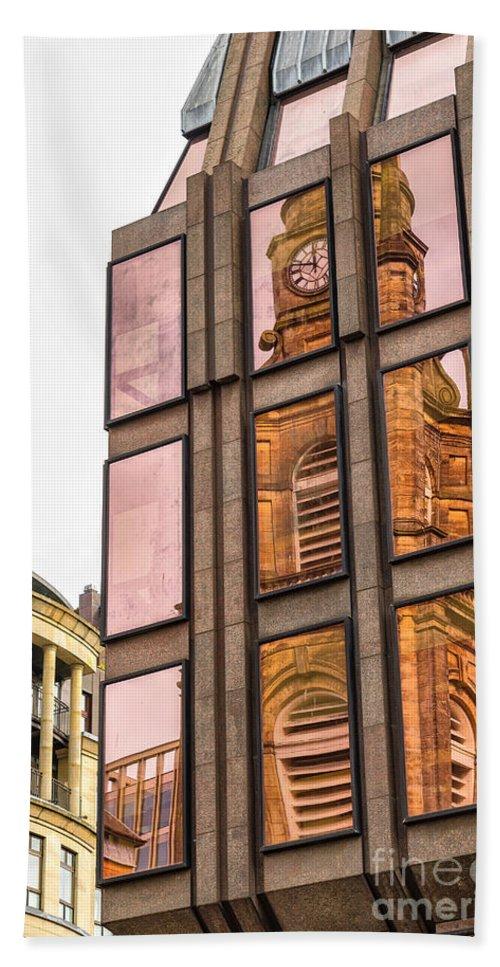 Office Beach Towel featuring the photograph Glasgow St Georges Tron Parish Church by Antony McAulay