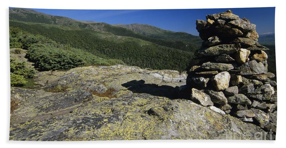Alpine Zone Beach Towel featuring the photograph Glen Boulder Trail - White Mountains New Hampshire Usa by Erin Paul Donovan