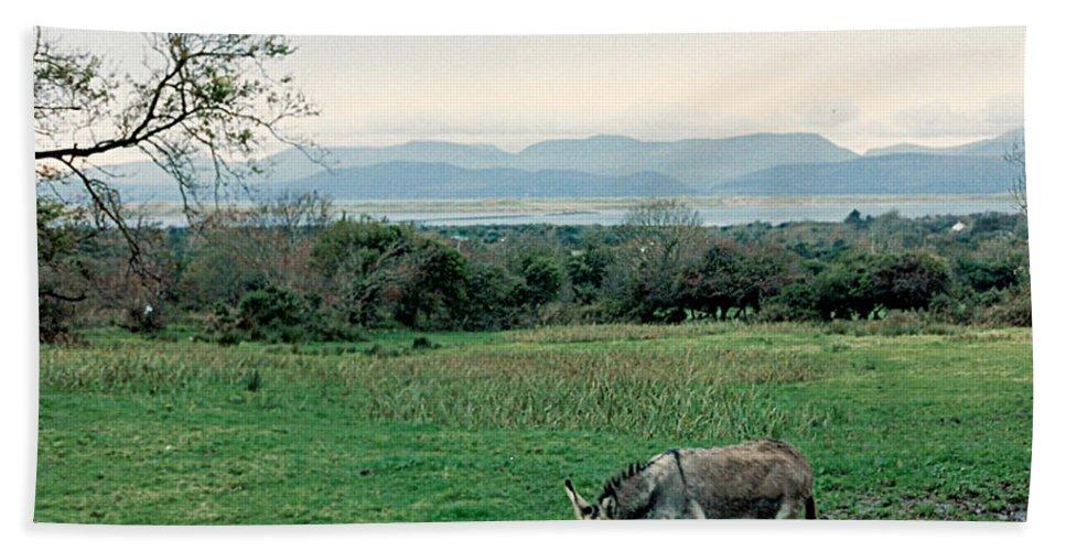 Ireland Beach Towel featuring the photograph Glenbeigh Ireland by Lauri Novak