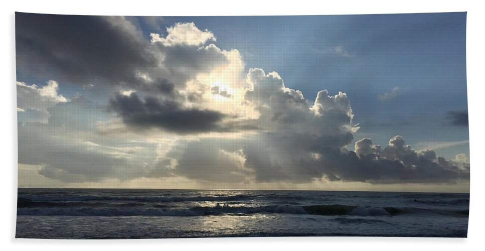 St. Augustine Beach Towel featuring the photograph Glory Day by LeeAnn Kendall