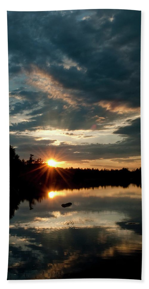 Candia Beach Towel featuring the photograph Going Going by Greg Fortier