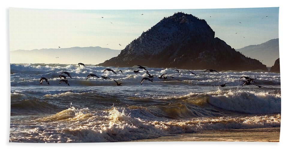 Nature Beach Towel featuring the photograph Golden Day by John K Sampson