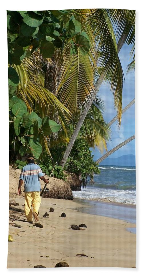 Puerto Rico Beach Towel featuring the photograph Gone Fishing by Marilyn Holkham