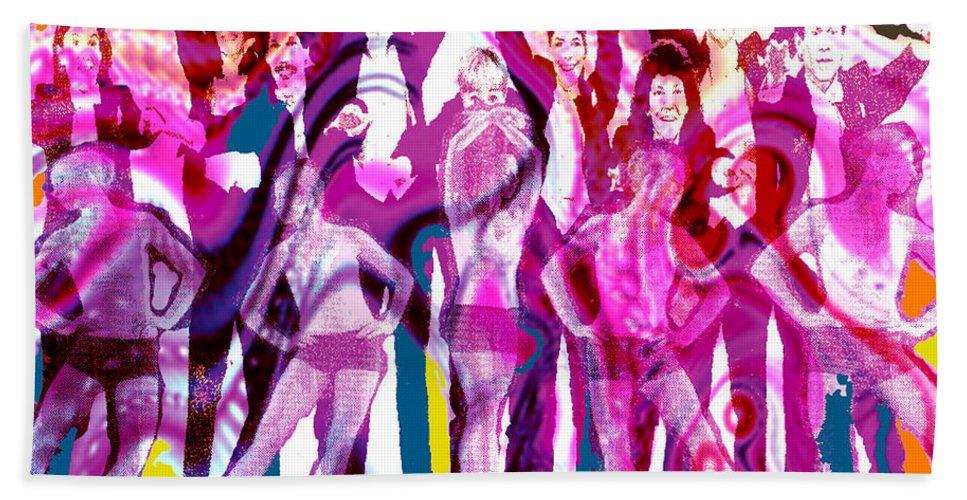 Joy Beach Towel featuring the digital art Got to Dance by Seth Weaver