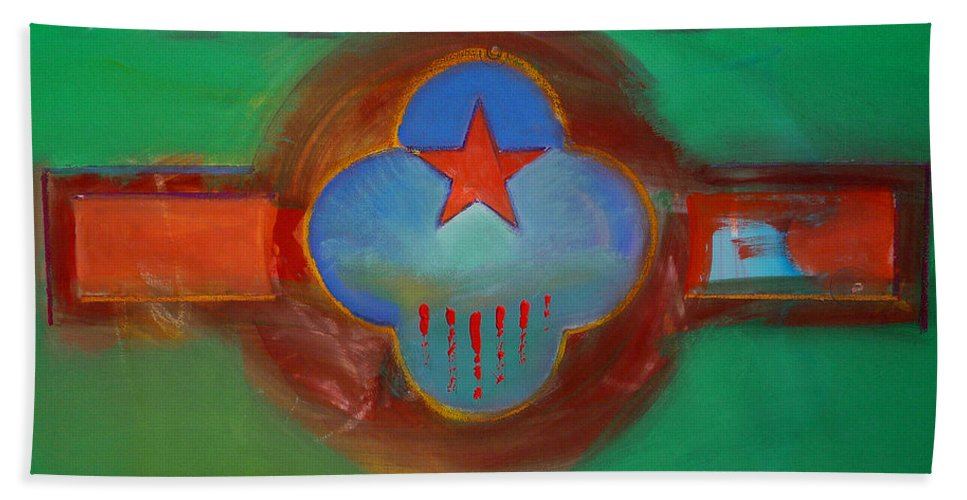 Star Beach Towel featuring the painting Grand Canal by Charles Stuart