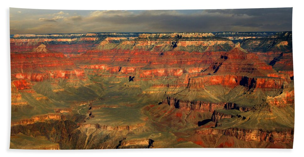 Grand Canyon Beach Towel featuring the photograph Grand Canyon by Anthony Jones