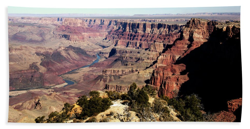 Grand Canyon Beach Towel featuring the photograph Grand Canyon Beauty by Paul Cannon