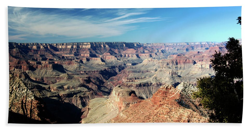 Grand Canyon Beach Towel featuring the photograph Grand Canyon Evening Light by Paul Cannon