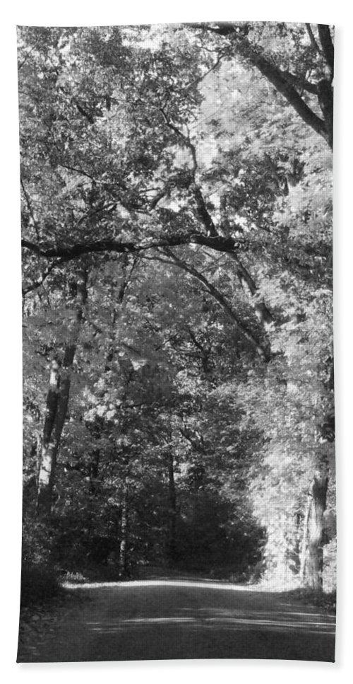 Back Beach Towel featuring the photograph Graves Rd by September Stone