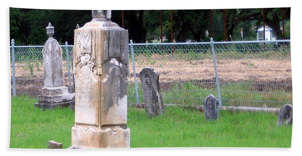 Cemetery Beach Towel featuring the photograph Graveyard by Amy Hosp