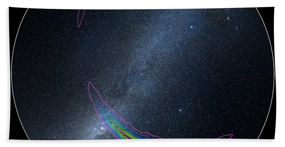 Science Beach Towel featuring the photograph Gravitational Waves Potential Sources by Science Source