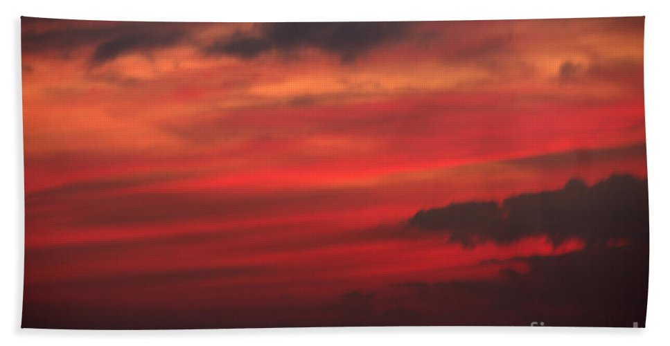 Grand Bend Beach Towel featuring the photograph Great White Cloud 2 by John Scatcherd