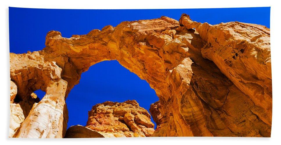 Chad Dutson Beach Towel featuring the photograph Grosvenor Arch by Chad Dutson
