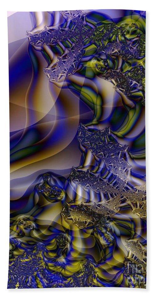 Segmentation Beach Towel featuring the digital art Growth Segmentation by Ron Bissett
