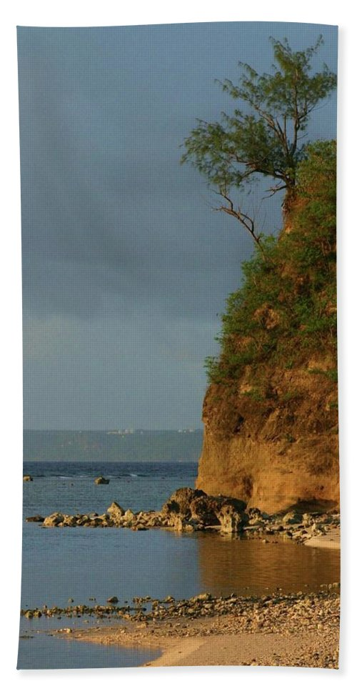 Guam Beach Towel featuring the photograph Guam- Keeping Watch by Jeanne Jackson