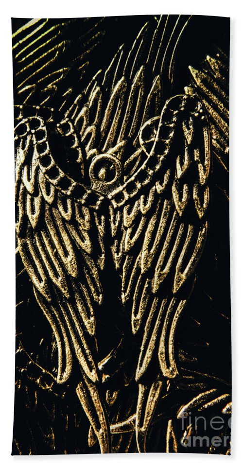 Vintage Beach Towel featuring the photograph Guardian Angel Charms by Jorgo Photography - Wall Art Gallery