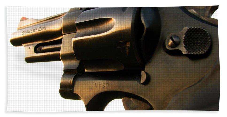 Gun Beach Sheet featuring the photograph Gun Series by Amanda Barcon