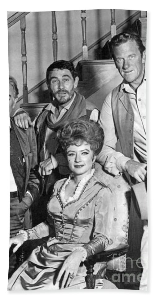 Gunsmoke Television Cast Beach Towel featuring the photograph Gunsmoke Television Show by Pd