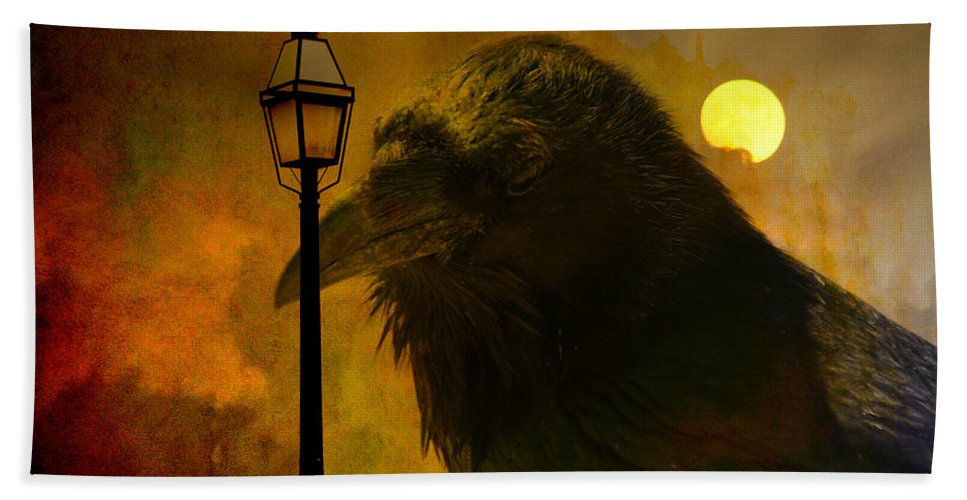 Halloween Beach Towel featuring the photograph Halloween Is Over by Susanne Van Hulst