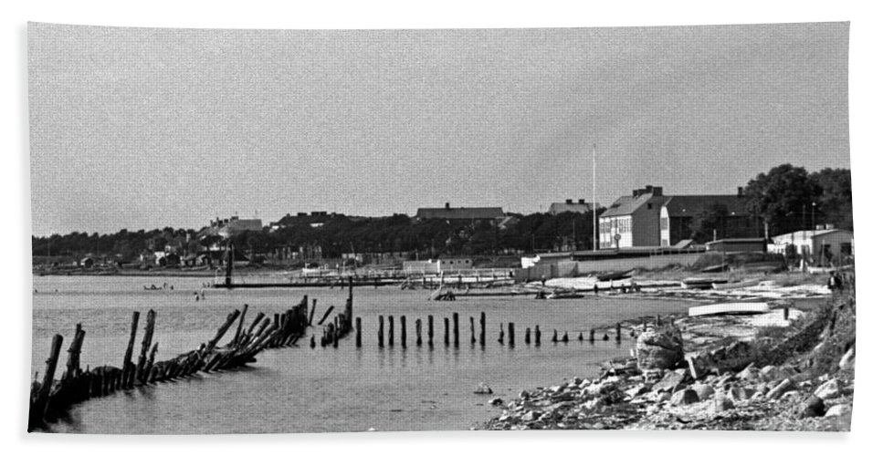 Europe Beach Towel featuring the photograph Halsingborg Sweden 3 by Lee Santa