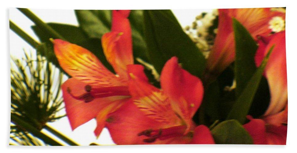 Flowers Beach Towel featuring the photograph Harmony by Fernanda Cruz