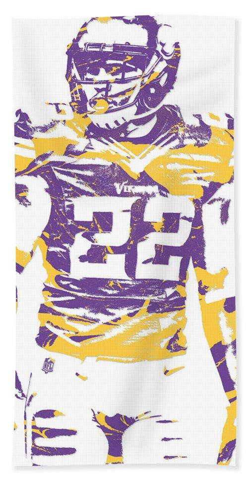 7952e2e7 Harrison Smith Minnesota Vikings Pixel Art 1 Beach Towel