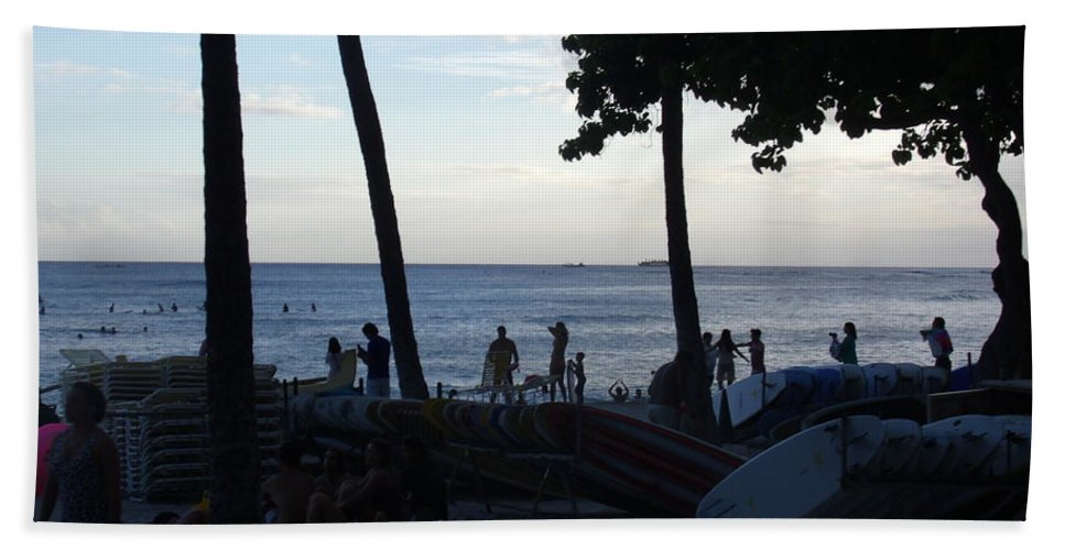 Hawaii Beach Towel featuring the photograph Hawaiian Afternoon by Daniel Sauceda
