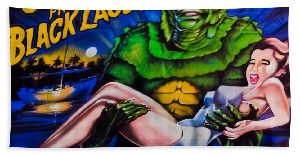 Airbrush Beach Towel featuring the photograph He Gets The Girl by DigiArt Diaries by Vicky B Fuller