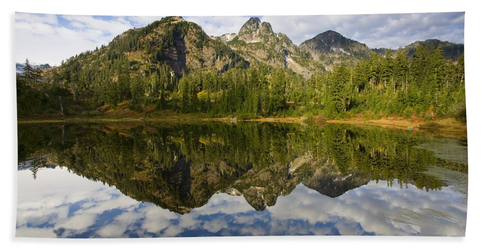 Lake Beach Towel featuring the photograph Heaven Unfolded by Mike Dawson